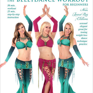 """Piece of Cake: The Belly Dance Workout"" DVD with Neon for beginners"