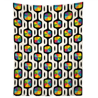 Andi Bird Double Dipper Black Tapestry