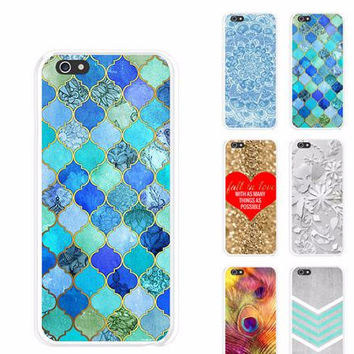 S5Q Anchor Modern Designer Painted PatternProtector Case Cover For Iphone 6 4.7 AAAEEY