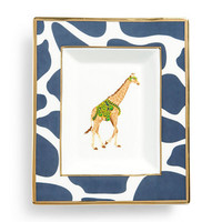 Decorative Plates - Giraffe Rectangular Ceramic Plate | C. Wonder