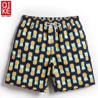 Men Pineapple Swimming Trunks
