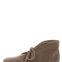 Sandy 61 Taupe Lace-Up Desert Boots