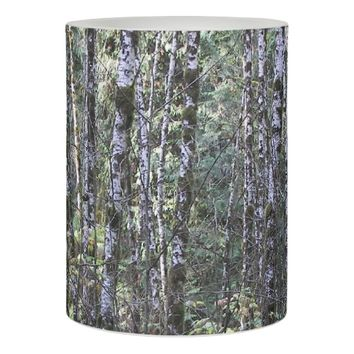 Quiet Woods Photo Flameless Candle