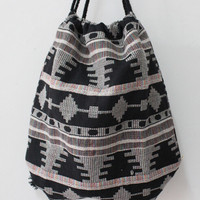 Boho Hippie Aztec  Backpack Female