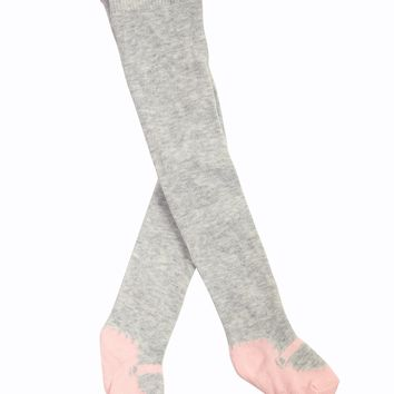 Mayoral Baby Girl Leggings in Gray and Pink