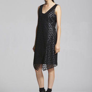 Cluster Dress - Black Threadwork – Taylor