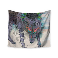 "Mat Miller ""Journeying Spirit"" Wolf Wall Tapestry"