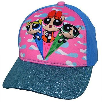 The Powerpuff Girls Blue 3D POP Baseball Cap - Size 4-14
