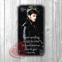 Captain Hook OUAT Quotes - zzD for iPhone 4/4S/5/5S/5C/6/ 6+,samsung S3/S4/S5,samsung note 3/4