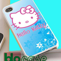 Hello Kitty Blue For Iphone 4/4s, iPhone 5/5s, iPhone 5C, iphone 6, and iPhone 6 Plus Case