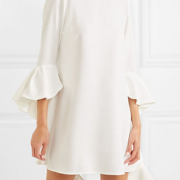 Ellery - Kilkenny ruffled crepe mini dress