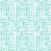 Mint Woven Watercolor - heatherdoucette - Spoonflower