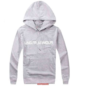 Under Armour Women Men Casual Long Sleeve Top Sweater Hoodie Pullover Sweatshirt-5