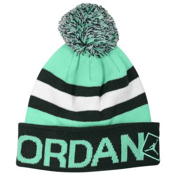 Jordan Go Two Three Pom Beanie at Foot Locker
