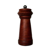 Baribocraft Pepper Mill, Made in Canada, Mid Century Teak Pepper Grinder