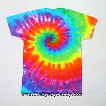 CLEARANCE: Child Large Rainbow Tie Dye Shirt