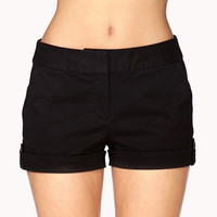 Essential Twill Shorts | FOREVER 21 - 2042215055
