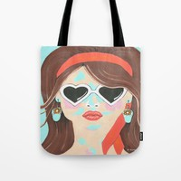 Heartbreaker Tote Bag by Kathleen Sartoris