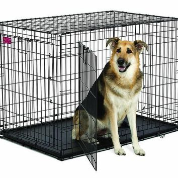 """Midwest ACE Double Door Dog Crate 43"""" x 29"""" x 30.5"""""""
