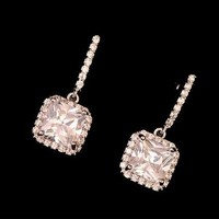 Princess Glamour Rhinestone Earrings