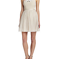 needle & thread - Embroidered Fit-and-Flare Dress - Saks Fifth Avenue Mobile