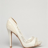 Badgley Mischka Evening Platform Pumps - Nora High Heel | Bloomingdale's