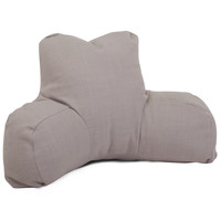 Gray Loft Reading Pillow