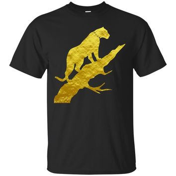 Panther Shirt Men Womens African Animal Print Tee Top