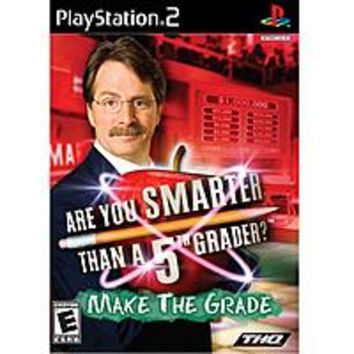 THQ 752919461501 Are You Smarter than a 5th Grader: Make the Grade for PlayStation 2