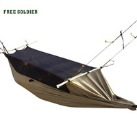 FREE SOLDIER outdoor camping outdoor survivor mult-ifunction portable mosquitoes hammock wear-resisting tent