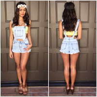 Breakaway Denim Overalls & Shorts