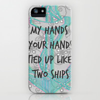 Strong- One Direction iPhone & iPod Case by mysteryxmeow
