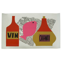 Pop Culture French Serving Tray