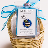Blueberry Vanilla Ring Tarts (Pick Your Ring Size)