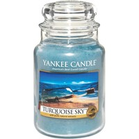 Turquoise Sky Candle