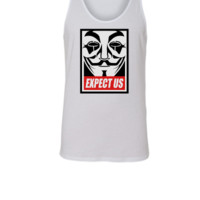 Anonymous Expect us - Unisex Tank