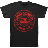 Amon Amarth Men's  Vintage Vikings T-shirt Black