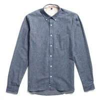 Indigo Flannel Button Down from Apolis
