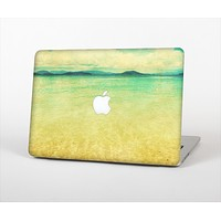 The Vintage Vibrant Beach Scene Skin Set for the Apple MacBook Air 13""