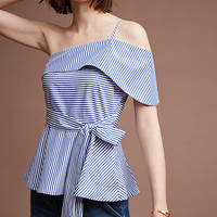 Mia One-Shoulder Blouse