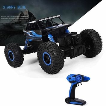 Hot RC Car 2.4G 4CH 4WD Off-Road Rock Crawlers 4x4 Driving Car Double Motors Drive Bigfoot Cars Remote Control Model Vehicle Toy