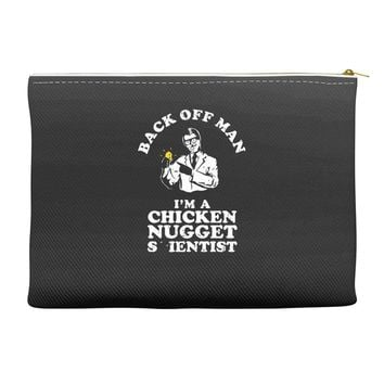 chicken nugget scientist Accessory Pouches