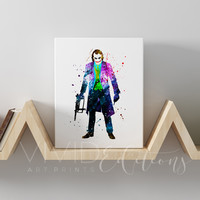 The Joker Gallery Wrapped Canvas