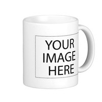 Create Your Own Custom Basic White Mug