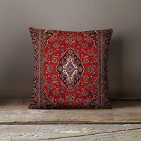 Persian Carpet Pillowcase | Decorative Throw