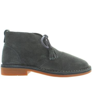 ESBONIG Hush Puppies Cyra Catelyn - Dark Grey Suede Chukka Boot