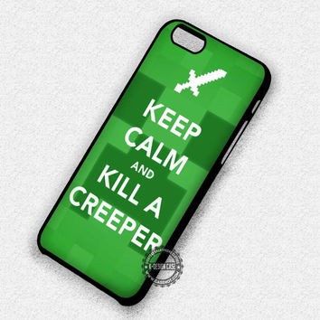 Kill A Creeper - iPhone 7 Plus 6 SE Cases & Covers