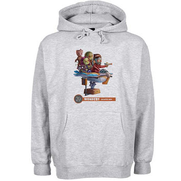 Guardian of The Galaxy wonder Hoodie Sweatshirt Sweater Shirt Gray and beauty variant color for Unisex size