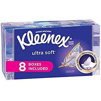 Kleenex Ultra Soft Facial Tissues 130 Count (Pack of