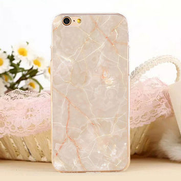 New Marble Stone Protect iPhone 7 7 Plus & iPhone se 5s & iPhone 6 6s Plus Case Cover+ Gift Box